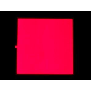 EL Panel - 10cm x 10cm Rojo